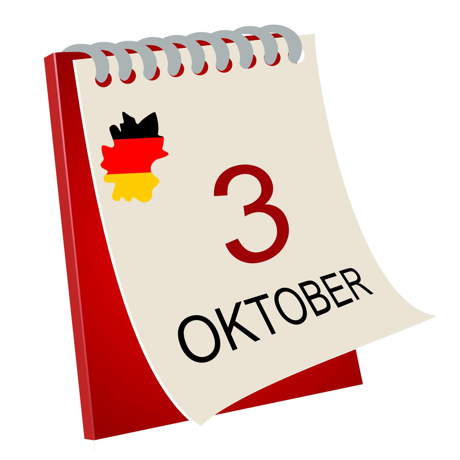3. Oktober Feiertag Bayern